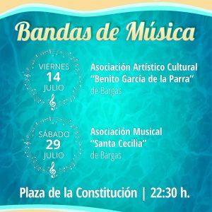 Bandas de Música – Verano Cultural 2017