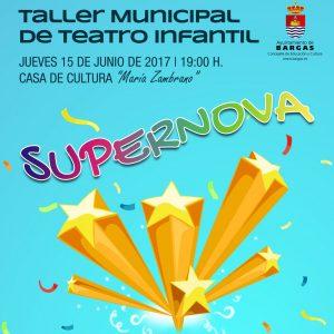 Taller Municipal de Teatro Infantil – Fin de Curso 2017
