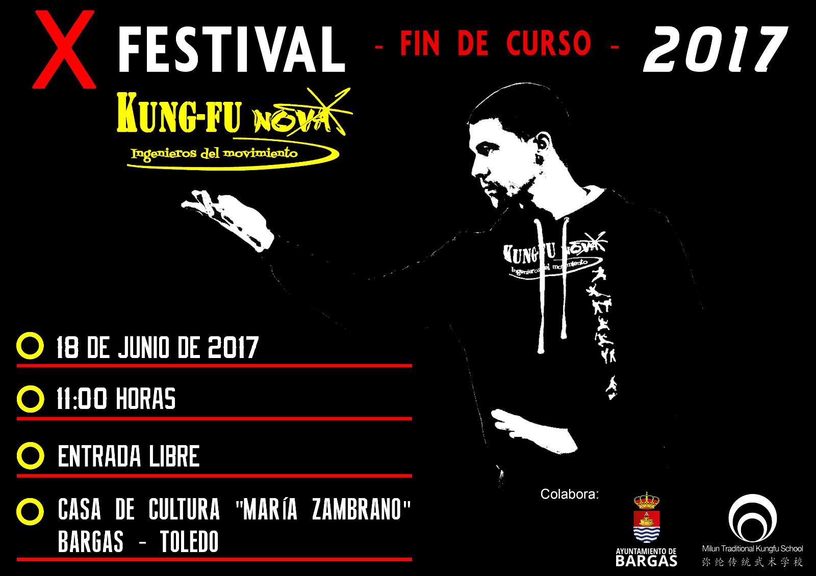 X Festival Fin de Curso – Kung Fu Nova