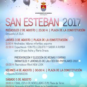 Fiestas de San Esteban 2017