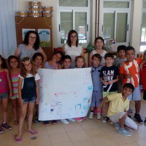 El Ayuntamiento de Bargas, a través de su Centro de la Mujer, realiza un taller de igualdad para los niños y niñas en la Juegoteca de verano