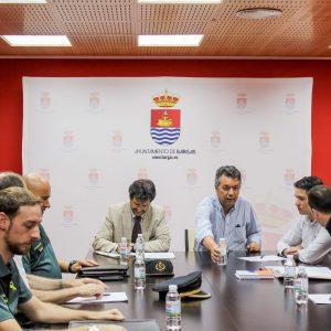 Reunida la Junta de Seguridad en Bargas