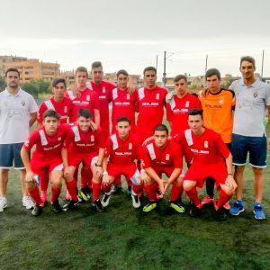 El equipo juvenil de fútbol participó en la Costa Blanca Cup