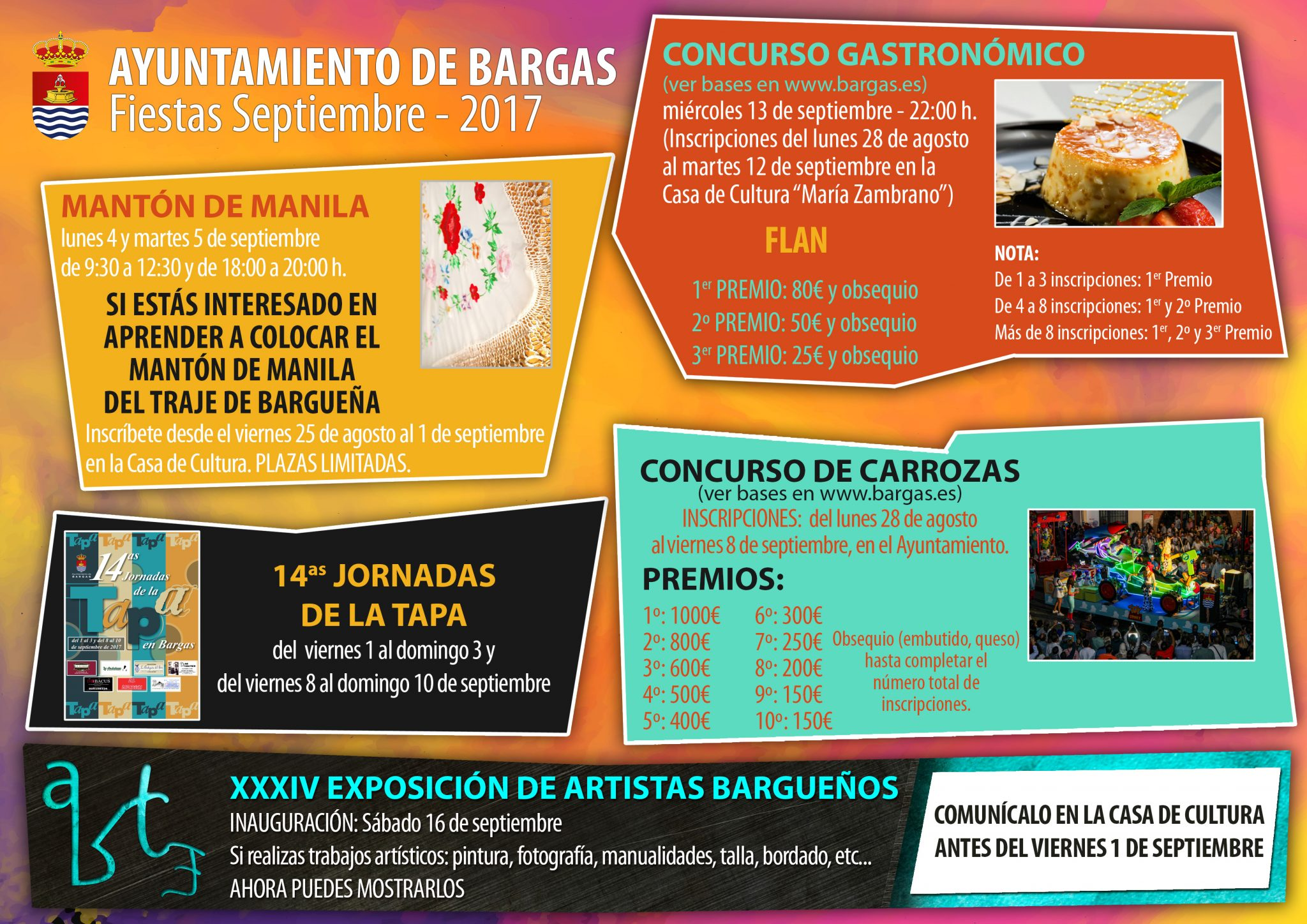 Actividades Fiestas 2017