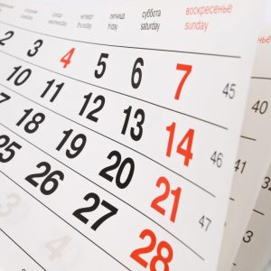 Calendario 2017-2018 Escuela infantil