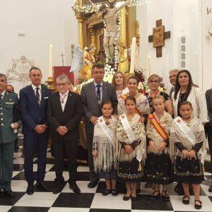 Bargas celebra su tradicional y solemne misa mayor con motivo de las fiestas populares en honor del Stmo. Cristo de la Sala