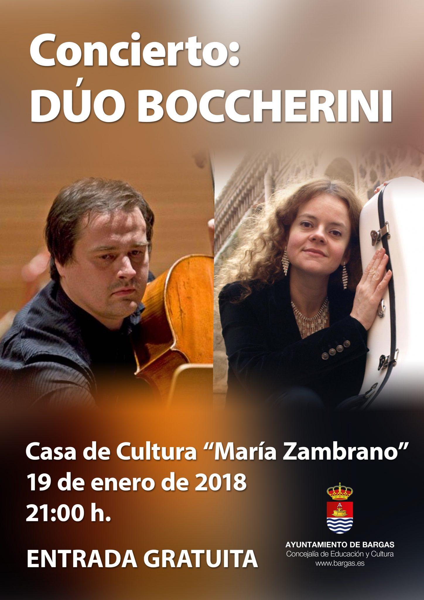 Concierto: Dúo Boccherini