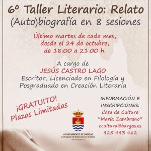 6º Taller Literario: Relato