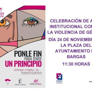 Celebración de Acto Institucional contra la Violencia de Género