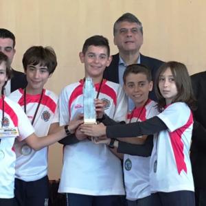 El Club de Ajedrez Bargas – Fundación Soliss, subcampeón de España sub-12