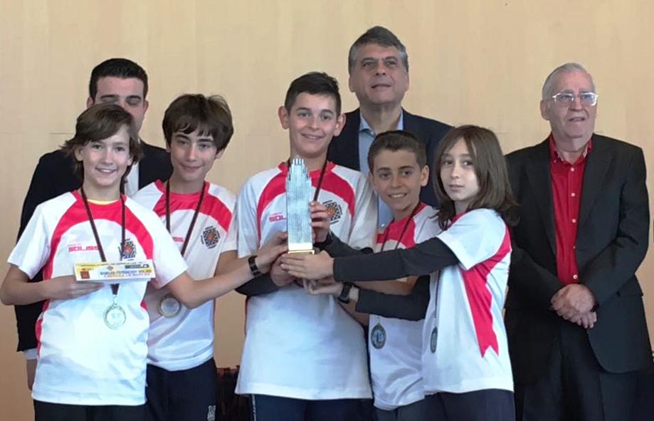 C.A. Bargas subcampeón de España Sub-12