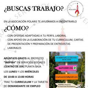 INSPIRA – Proyecto de Inserción Sociolaboral