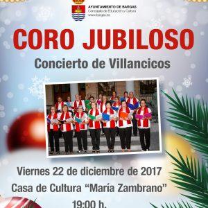Coro Jubiloso – Concierto de Villancicos 2017