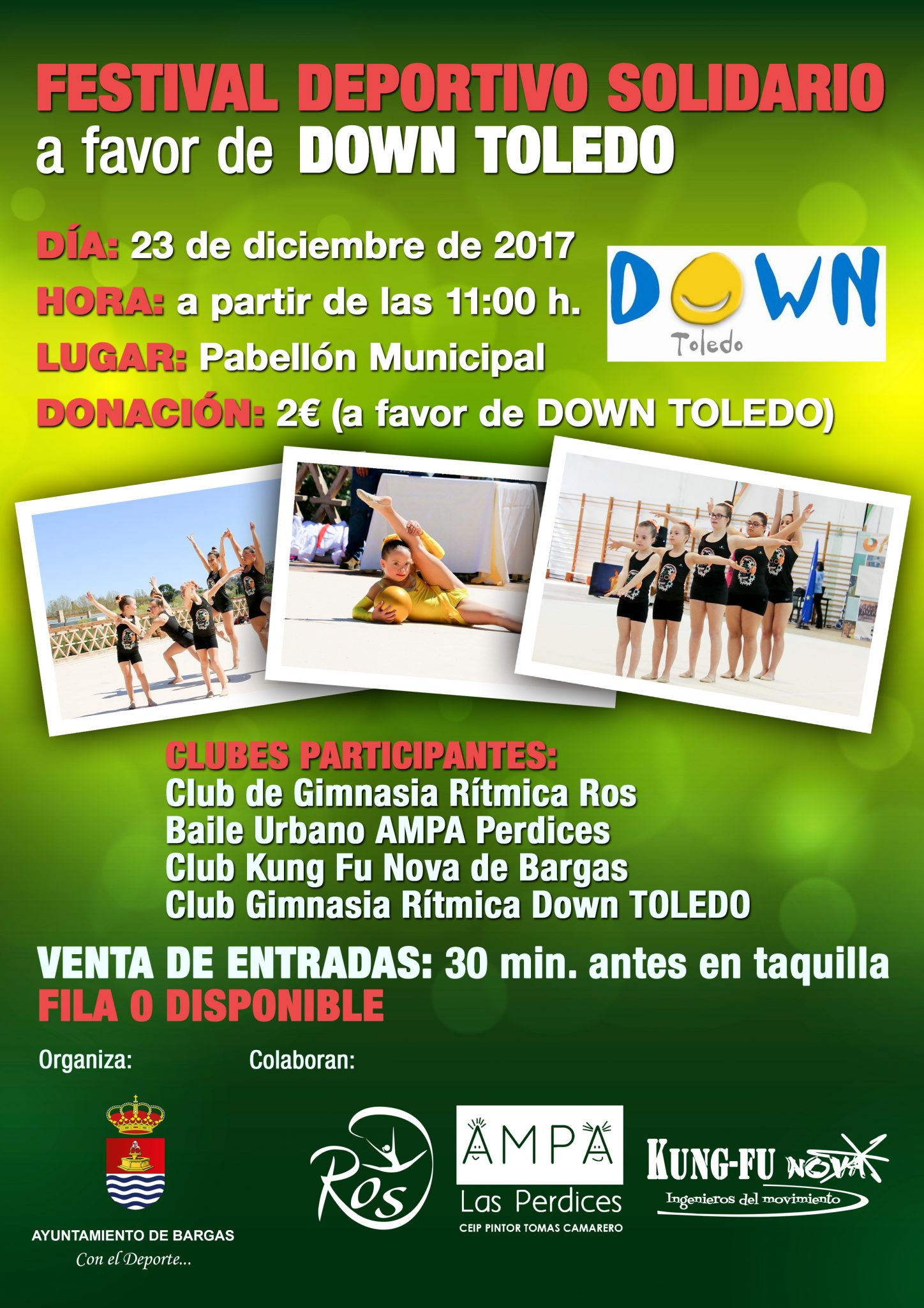 Festival Deportivo Solidario a favor de Down Toledo