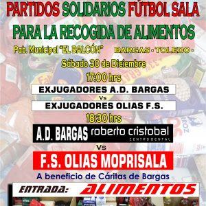 Partidos solidarios de Fútbol Sala