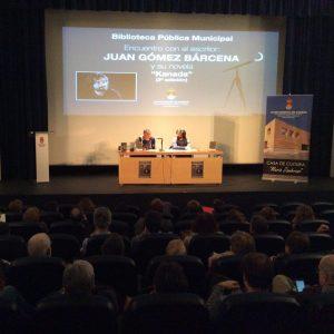 Encuentro con el escritor Juan Gómez Bárcena