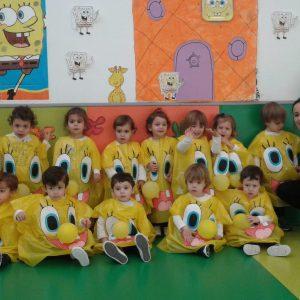 Carnaval en la Escuela Infantil.
