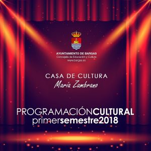 Programación Cultural Primer Semestre 2018