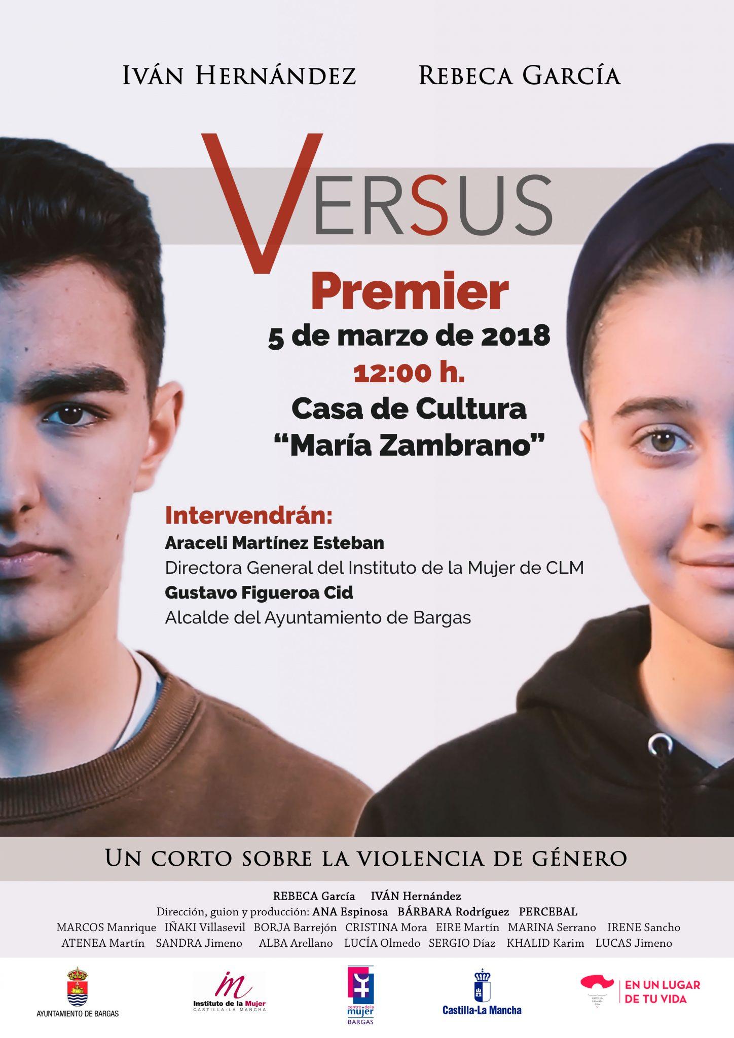 Premier del corto: Versus