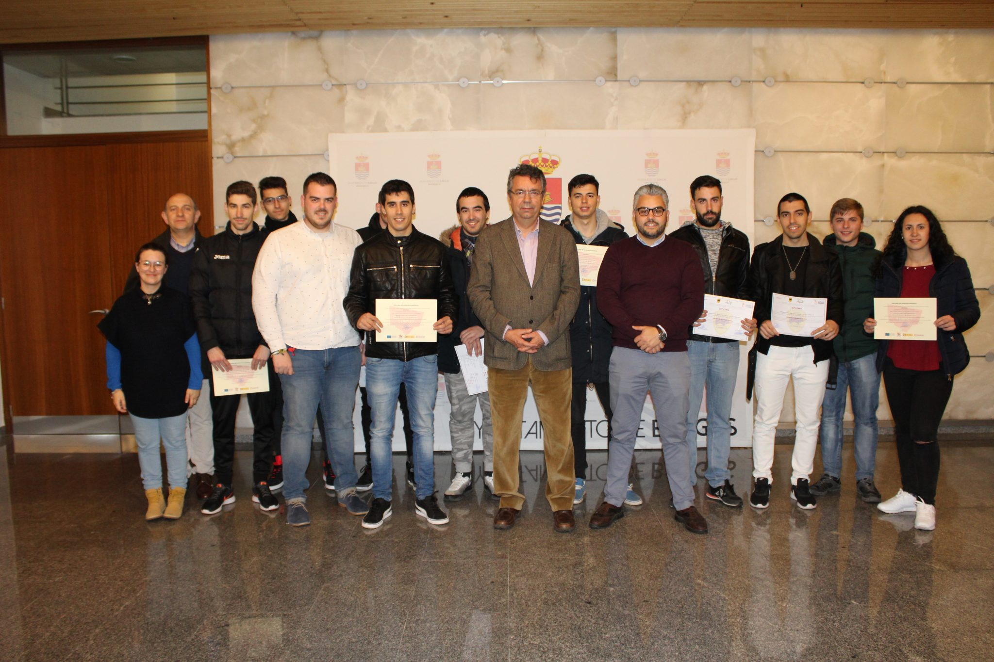 Bargas clausura con éxito un nuevo curso de Vigilante de Seguridad para jóvenes