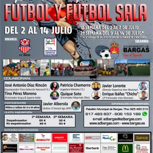 XX Campus Deportivo Fútbol y Fútbol Sala