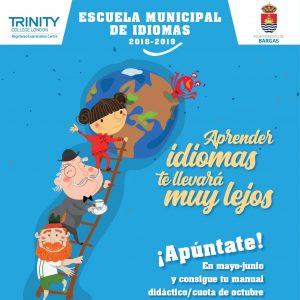 Preinscripción Escuela Municipal de Idiomas 2018/2019