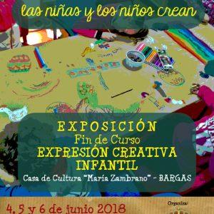 Exposición Fin de Curso Expresión Creativa Infantil