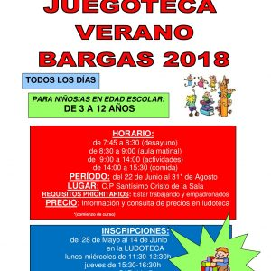 Juegoteca Verano 2018