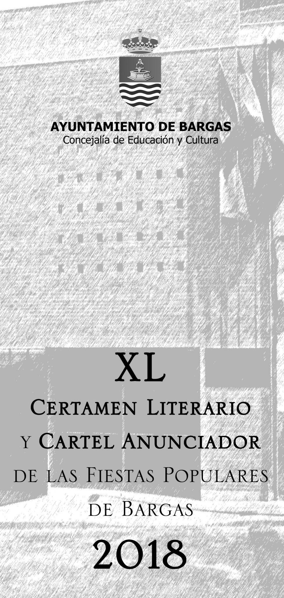 Bases del XL Certamen Literario y Cartel Anunciador de las Fiestas