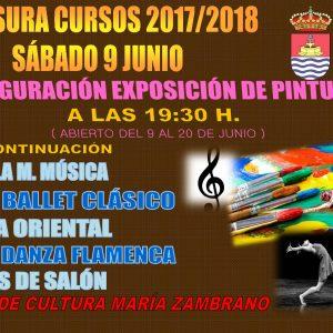 Clausura de los Cursos Municipales 2017/2018