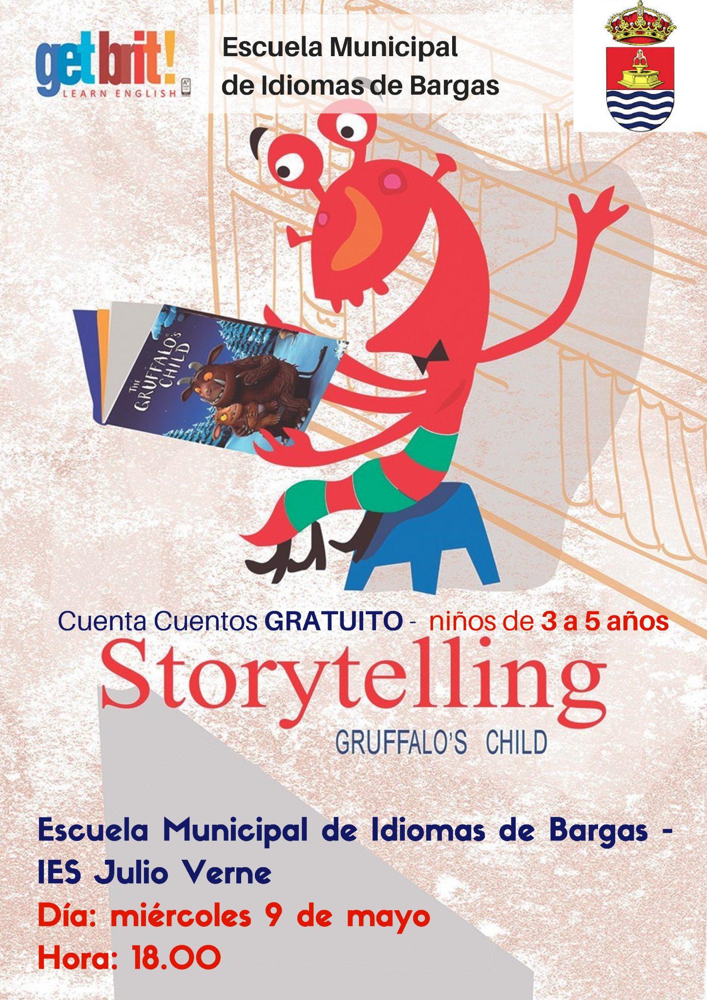Storytelling – Cuenta Cuentos Gratuito