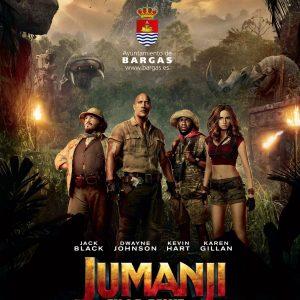 Cine: Jumanji, bienvenidos a la jungla