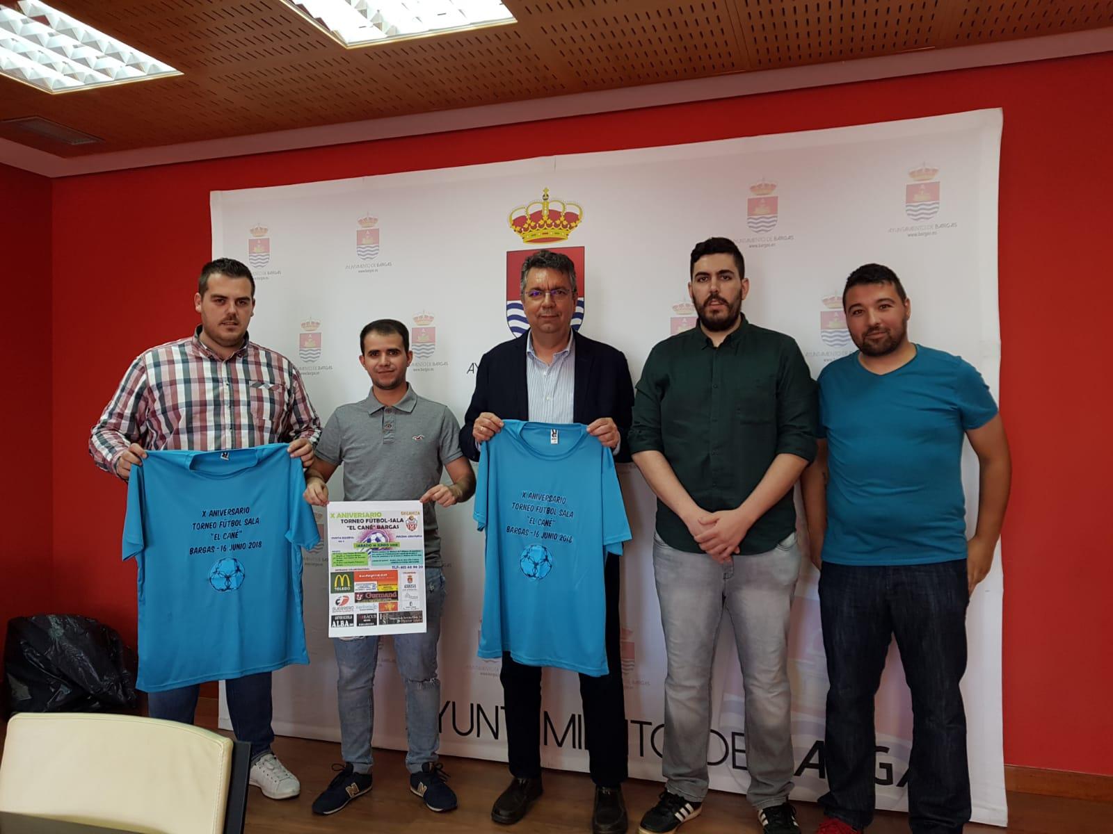 """Más de 200 jugadores participarán en el Torneo Futsal """"El Cané"""" de Bargas en su 10º Aniversario"""