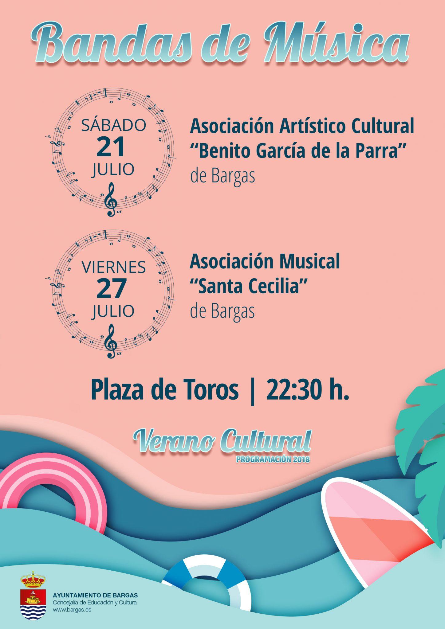 Bandas de Música – Verano Cultural 2018