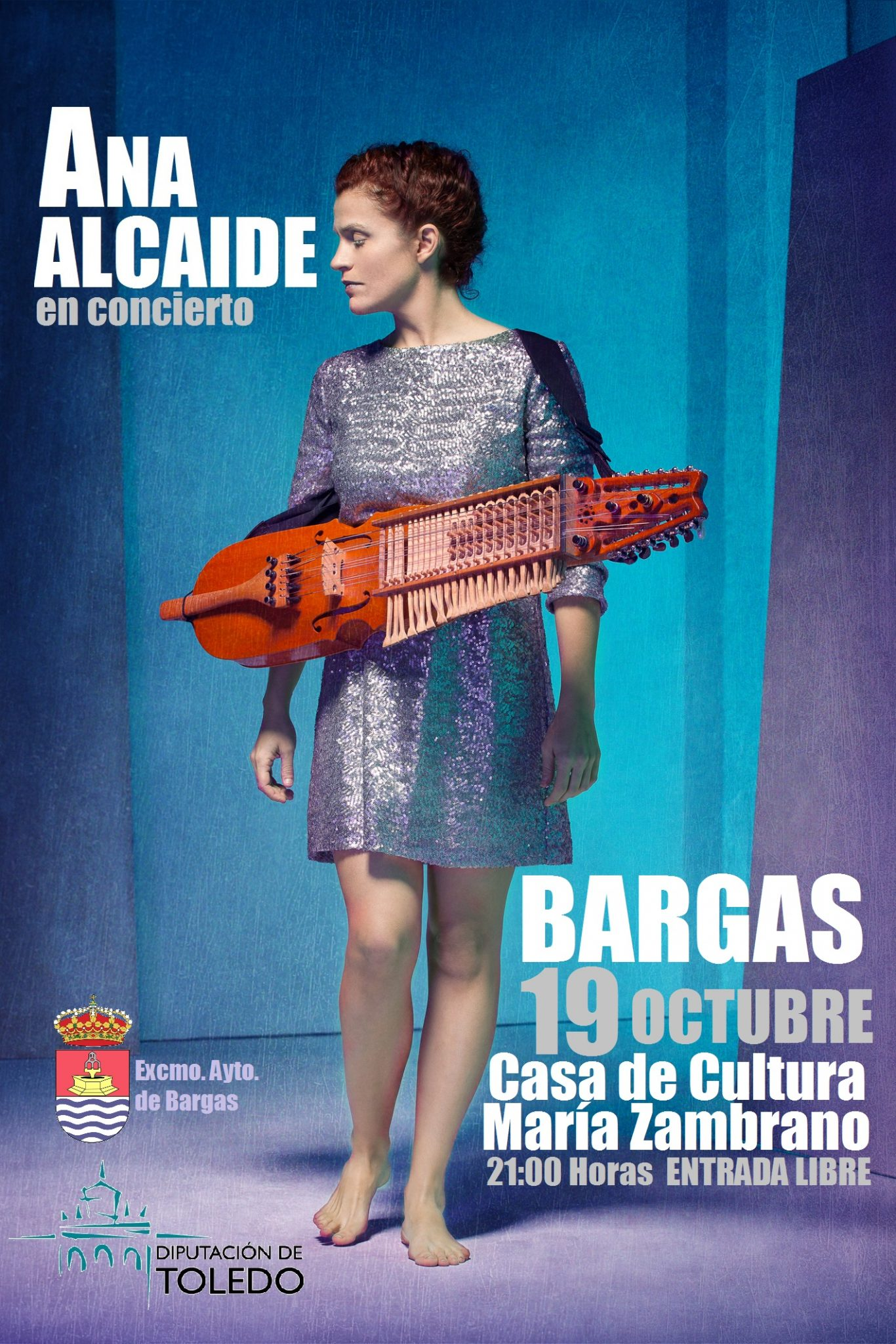 Concierto: Ana Alcaide
