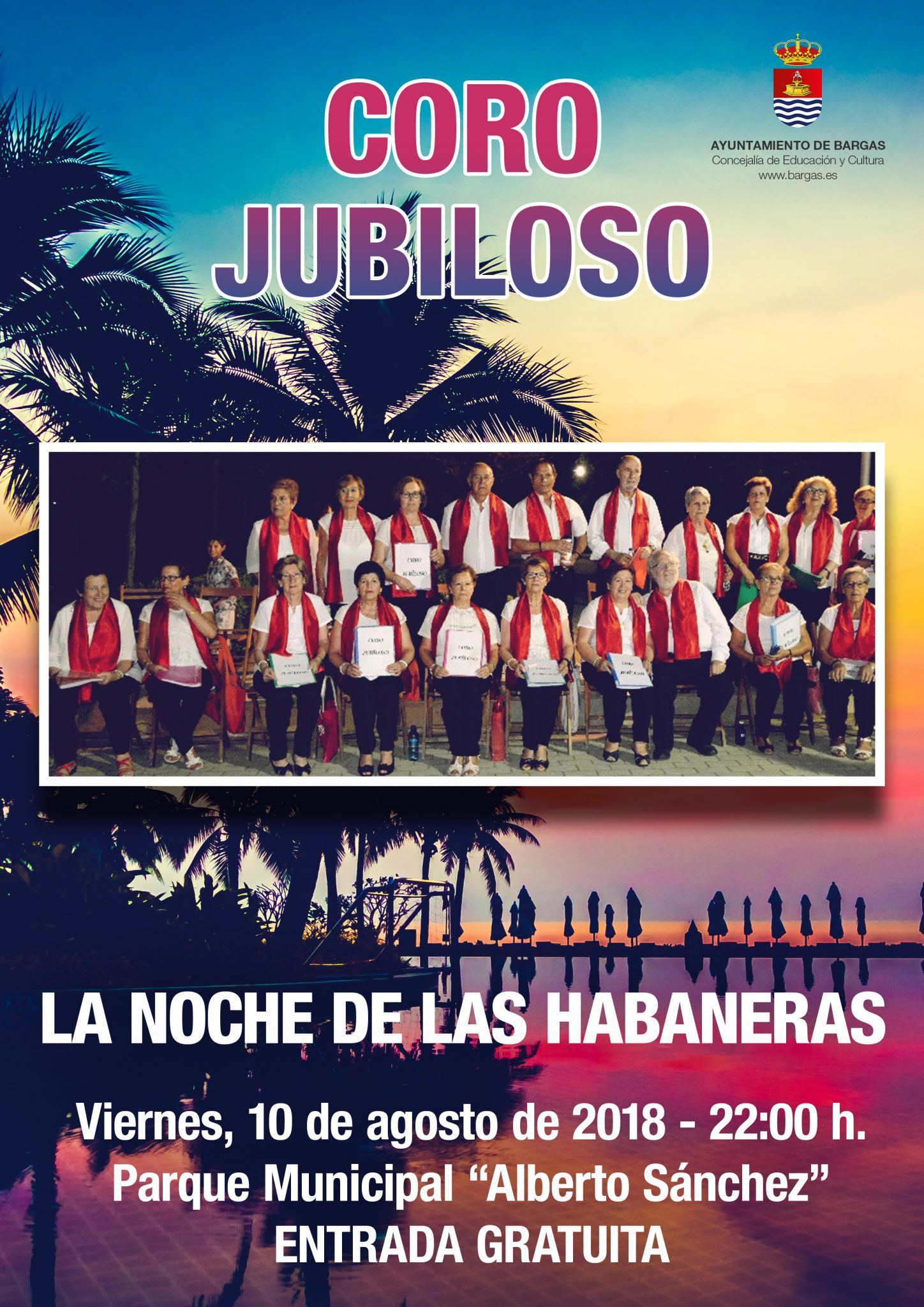 Coro Jubiloso: La noche de las habaneras
