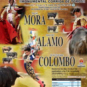 Monumental Corrida de Toros: David Mora, Juan del Álamo y Jesús Enrique Colombo