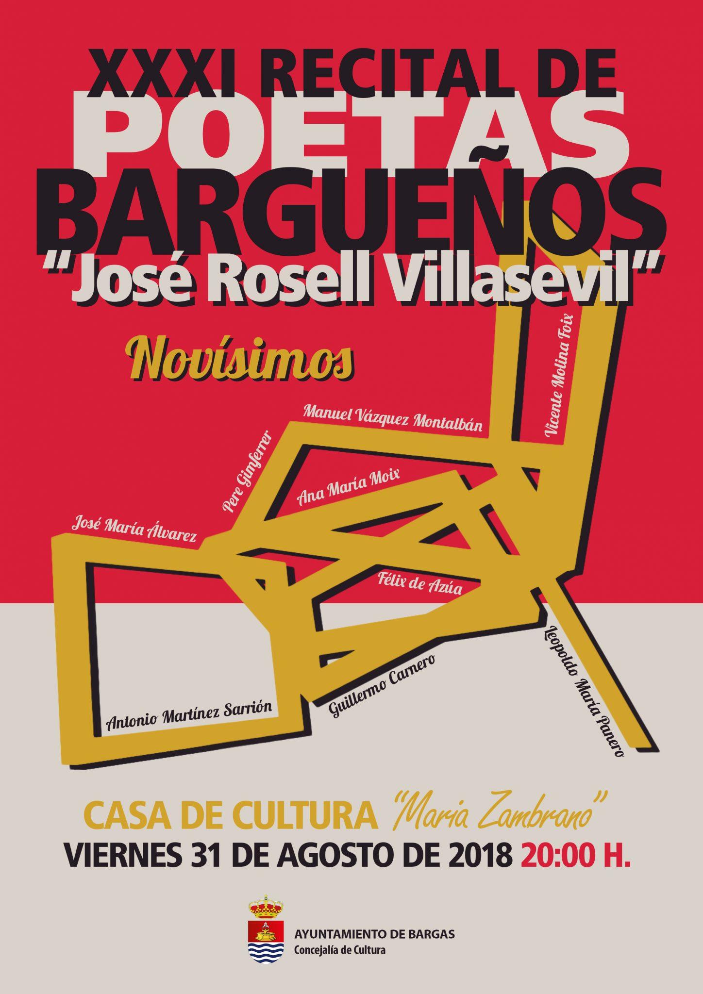 XXXI Recital de Poetas Bargueños