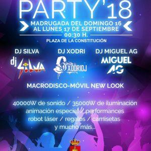 Función Party'18