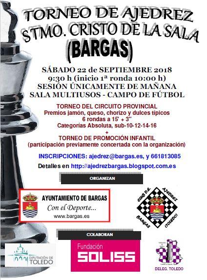 Torneo de ajedrez Santísimo Cristo de la Sala