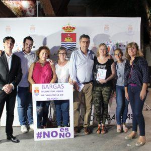 """Bargas promueve la campaña """"NO es NO"""" sobre la violencia de género"""
