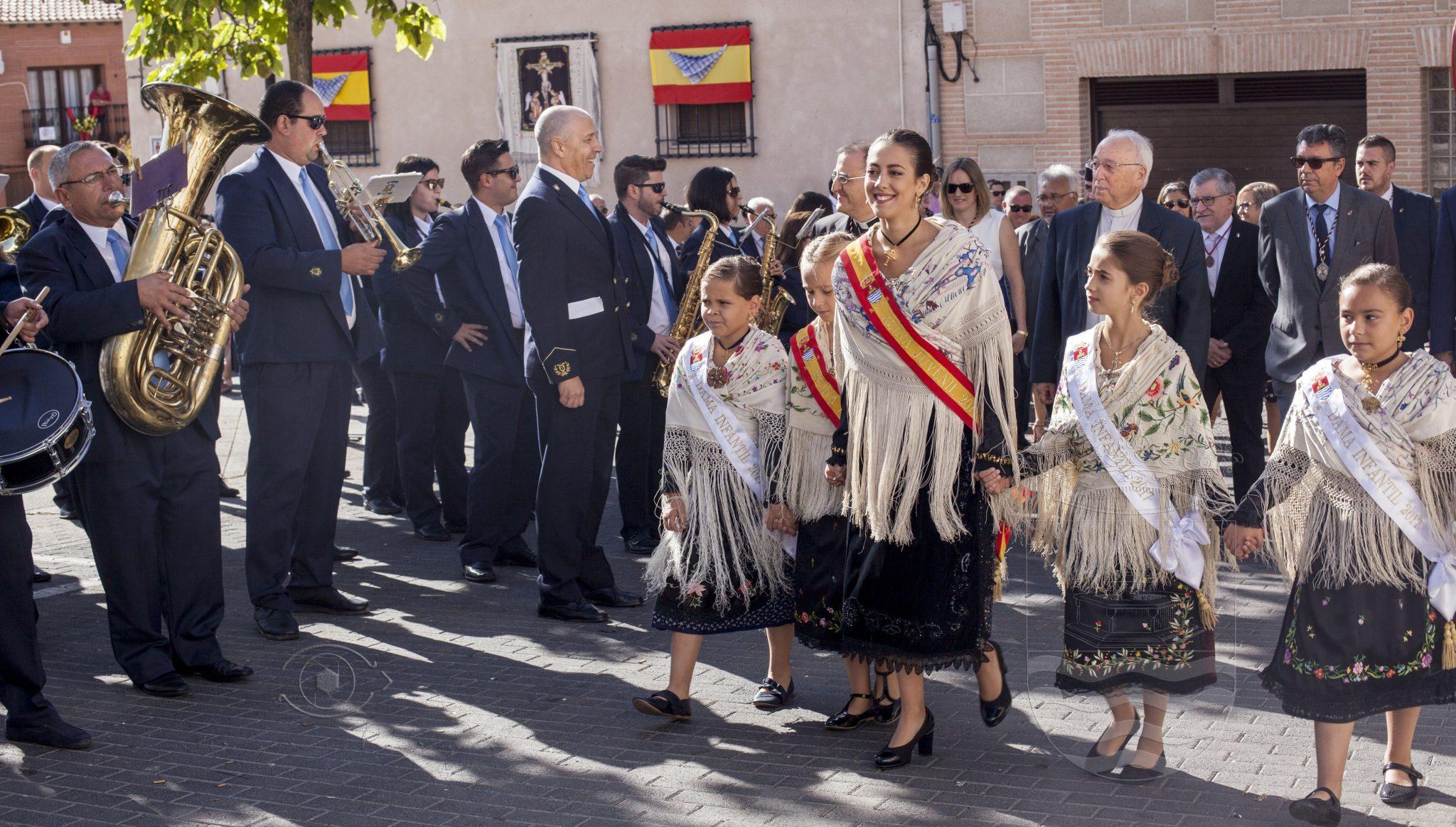 Autoridades asistentes a los actos del próximo domingo 14 de septiembre, con motivo de las fiestas en honor al Stmo. Cristo de la Sala