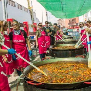 Con juegos infantiles, paella, becerrada y música, concluyen las fiestas populares de Bargas.