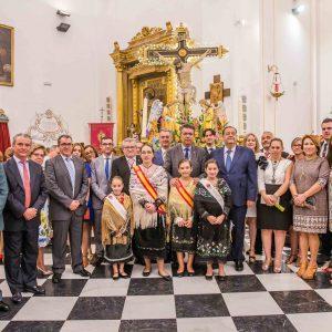 Bargas celebra su tradicional y solemne misa mayor, con motivo de las fiestas populares en honor del Stmo. Cristo de la Sala
