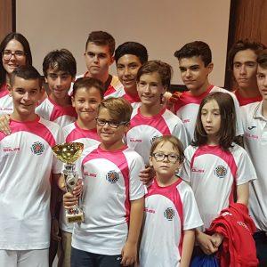 El Club de Ajedrez Bargas Sub-12, campeón de Castilla la Mancha por tercera vez consecutiva. Los sub-18, sextos a un punto del subcampeonato.