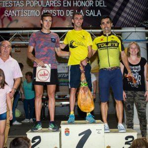 El cross de Bargas celebra sus 40 años con nuevo record de participación y triunfos de Ángel Ronco y Victoria Pradilla.
