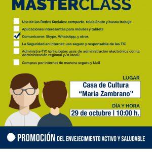 Master Class Comunicarse: Skype, WhatsApp y otros