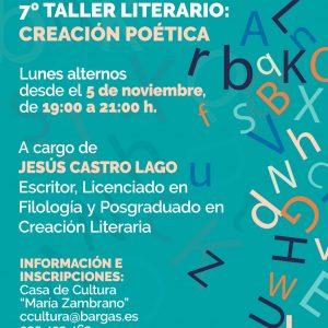7º Taller Literario: Creación Poética