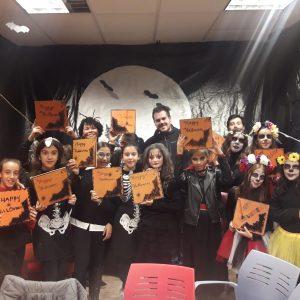 El Ayuntamiento de Bargas organizó una tarde terrorífica para celebrar Halloween