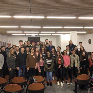 Proyecto Erasmus + 2018: el Ayuntamiento de Bargas recibe a un grupo de alumnos y profesores procedentes de distintos centros educativos de la Unión Europea